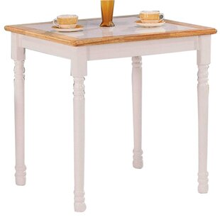 Dew Square Solid Wood Dining Table