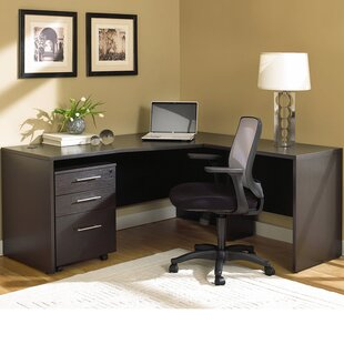 Marta Corner L-Shape Executive Desk by Comm Office Spacial Price