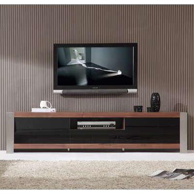 B-Modern Coordinator TV Stand for TVs up to 78 Color: Brown