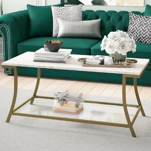 Selzer Coffee Table with Tray Top