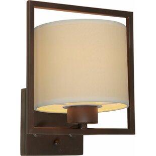 Ebern Designs Mcmillen 1-Light Wall Sconce