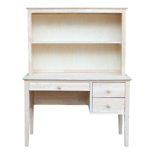 August Grove Newville Computer Desk with Hutch