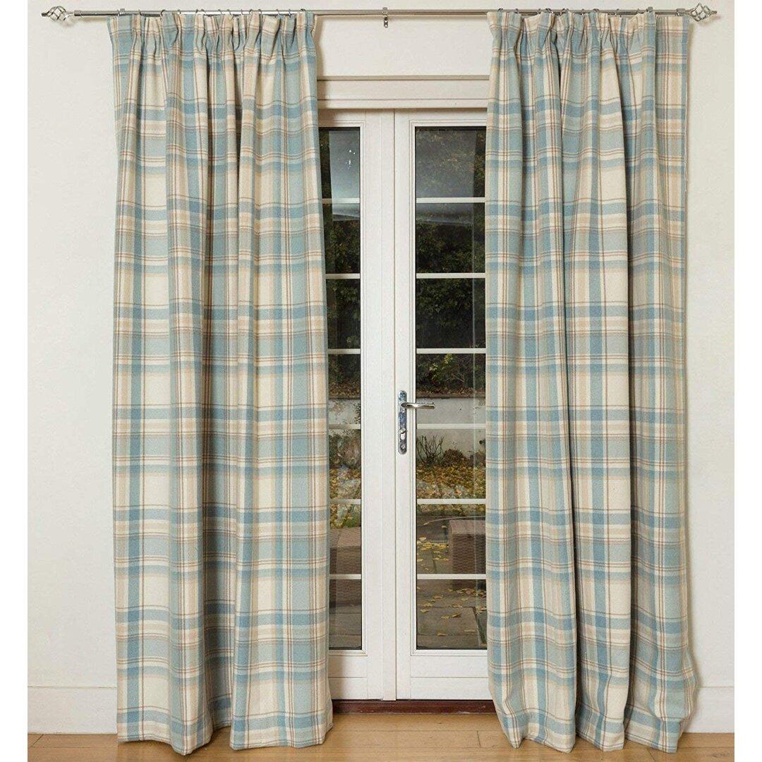 Nyasia Heritage Tailored Eyelet Blackout Thermal Curtains