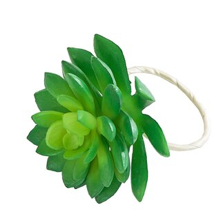 Succulent Napkin Ring (Set of 6)