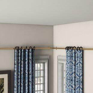 Corner Curtain Rod Connector Wayfair