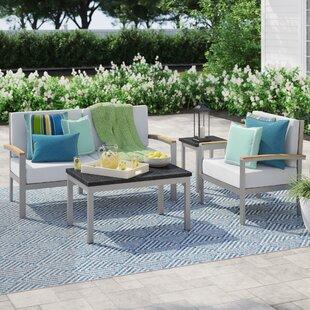 Caspian 5 Piece Sofa Set by Sol 72 Outdoor Modern