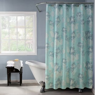 Rexdale Printed Shower Curtain Set