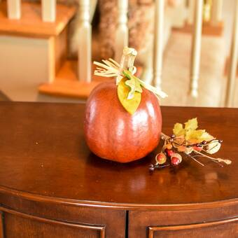 The Holiday Aisle Hand Crafted Gourd Scarecrow Wall Hanger Wayfair