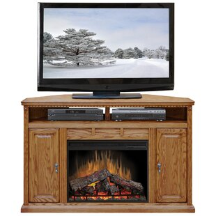 Scottsdale Corner TV Stand for TVs up to 55 with Fireplace by Legends Furniture