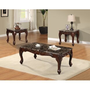 Westerberg 3 Piece Coffee Table Set