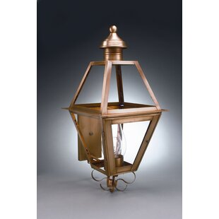 Gill 3-Light Outdoor Sconce by Alcott Hill