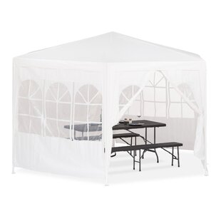 Selene 4m X 4m Metal Party Tent By Sol 72 Outdoor