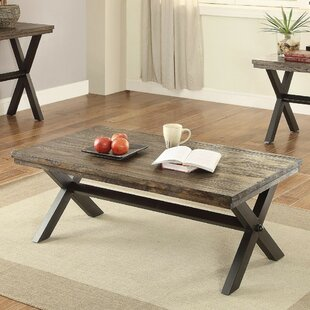 Miesville Modern X Framed Coffee Table