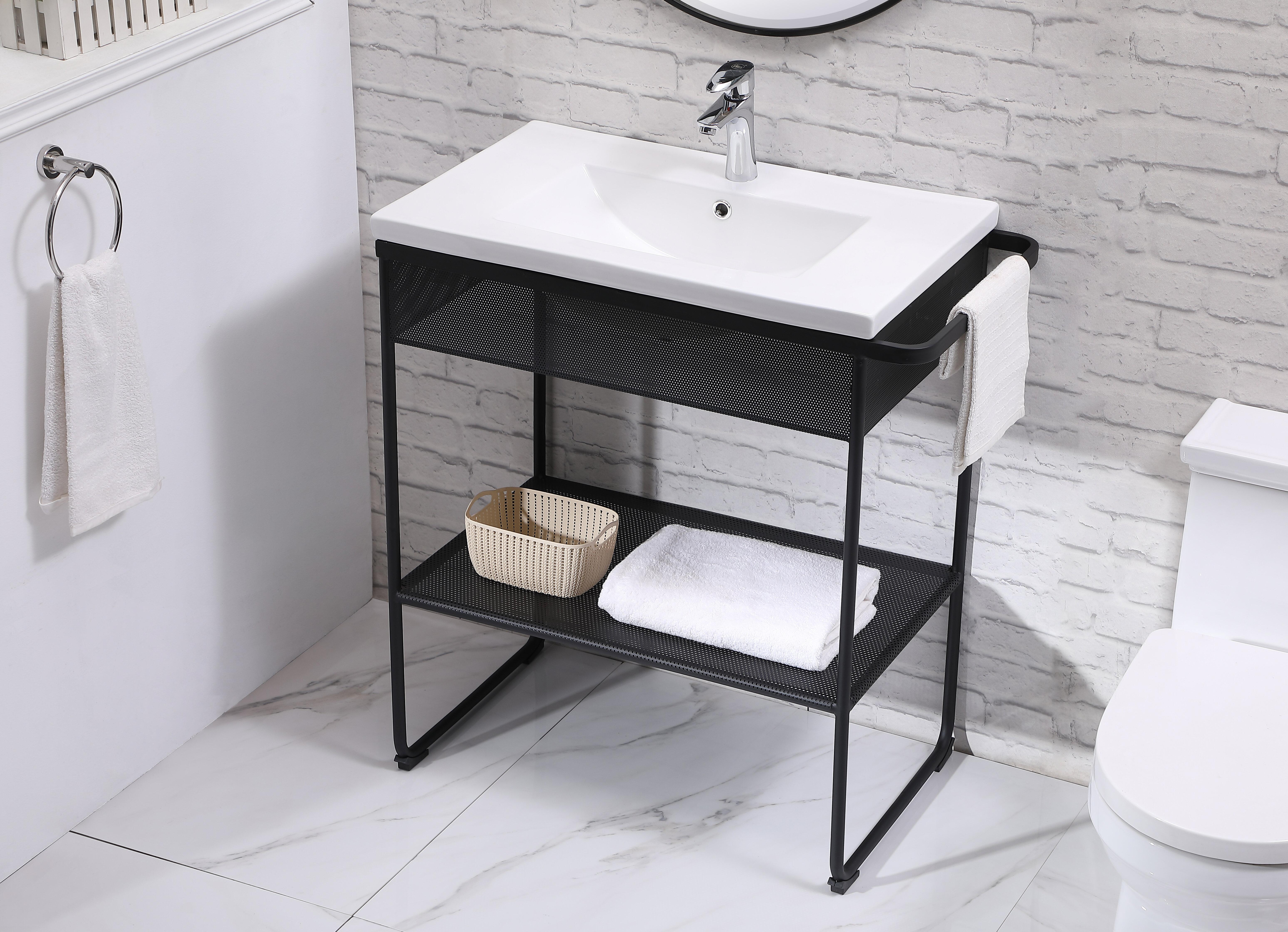 Brayden Studio Iduna 32 Single Bathroom Vanity Set Wayfair