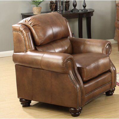 Wingback Leather Chairs Youll Love Wayfair