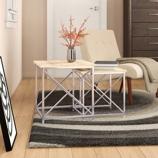 Arvidson 2 Piece Nesting Tables by Wrought Studio