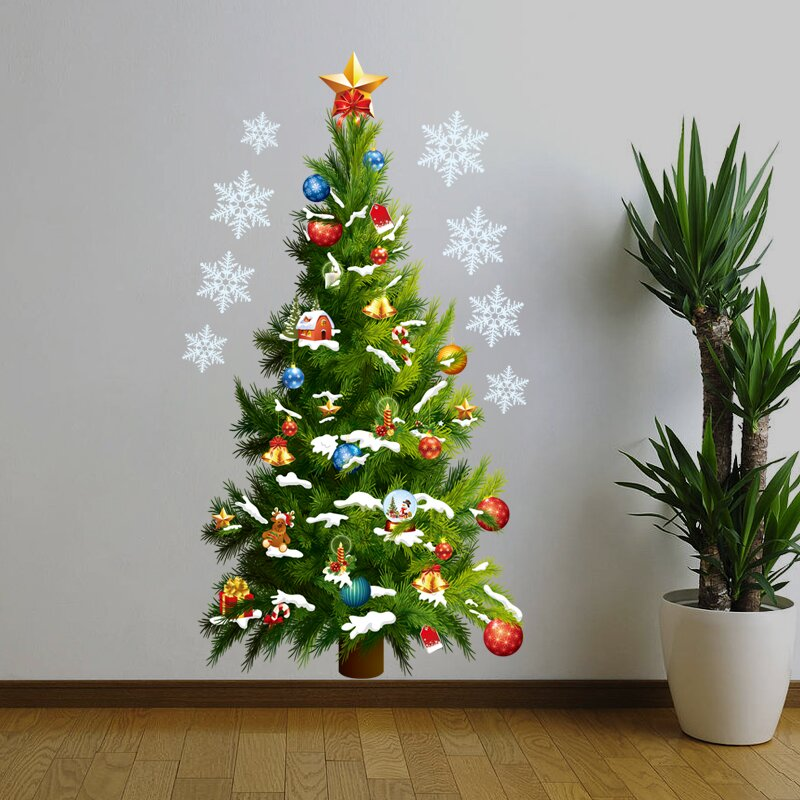 Nice Wall Christmas Tree Wall Decal