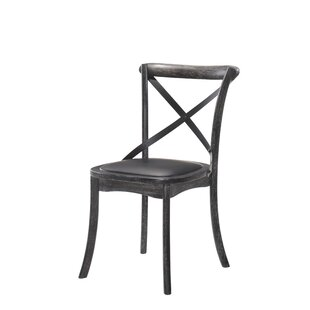 Herefordshire Upholstered Dining Chair (Set of 2) Three Posts