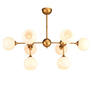 Everly Quinn Harish 8-Light Sputnik Chandelier