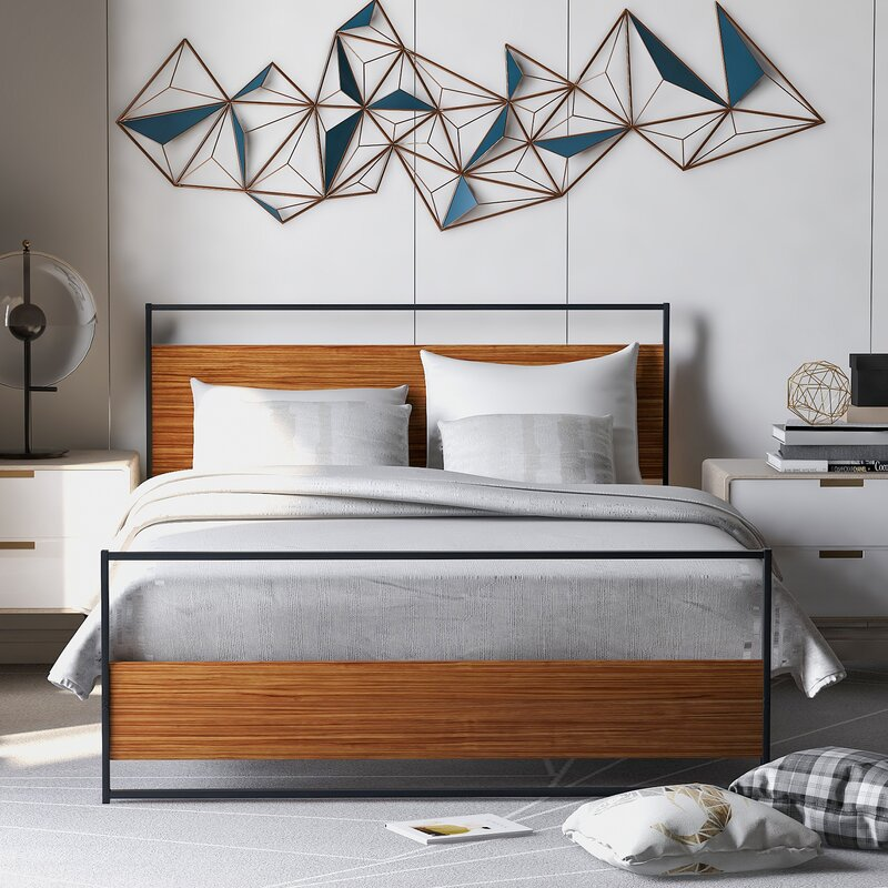 17 Stories Furlow Full Double Low Profile Platform Bed Wayfair