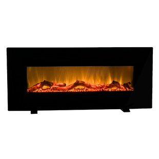 Orren Ellis Behling Wall Mounted Electric Fireplace