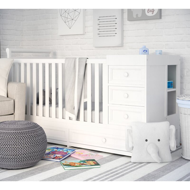 Shiloh 2 In 1 Convertible Crib And Changer