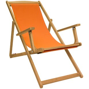Hartz Reclining And Folding Deck Chair Image