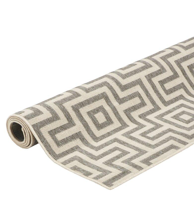 floorita innen au enteppich maze in grau beige. Black Bedroom Furniture Sets. Home Design Ideas