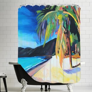 Markus Bleichner Henning Magens Bay St. Thomas USVI Single Shower Curtain