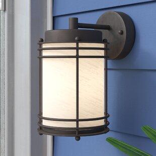Cheer 1-Light Outdoor Wall Lantern by Ebern Designs
