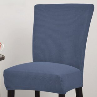 Parson Chair Slipcover With Elastic Edges