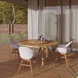 Seitz 5 Piece Teak Dining Set