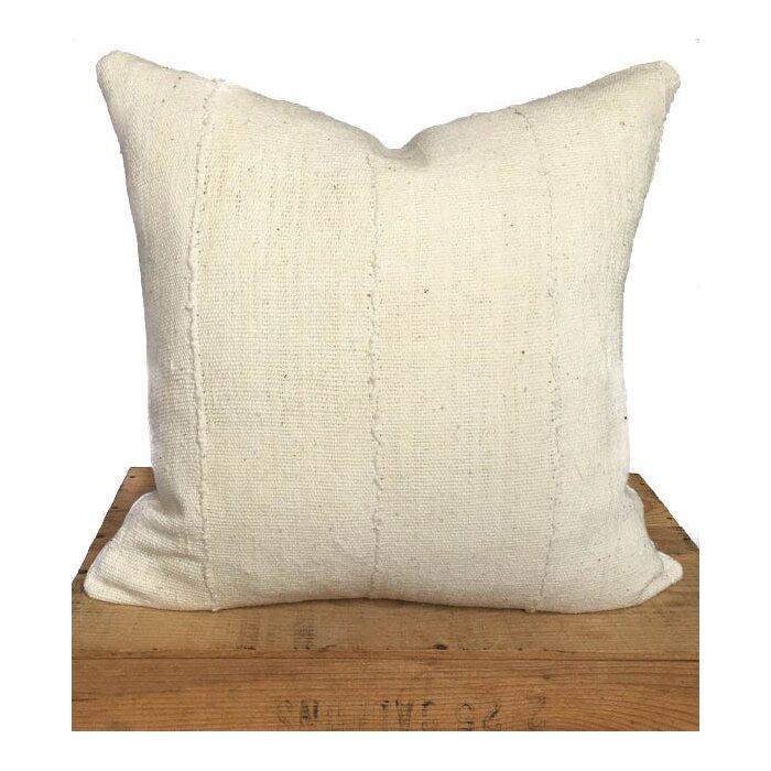 e Fine Nest Plain African Mud Cloth Pillow Cover & Reviews