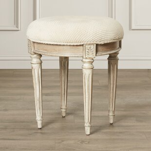 Reviews Corinne Vanity Stool By Darby Home Co