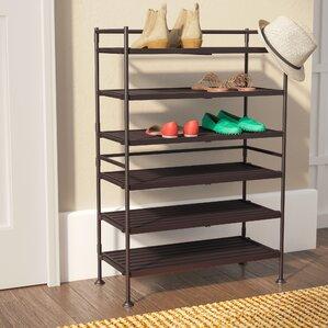 6tier 18 pair shoe rack