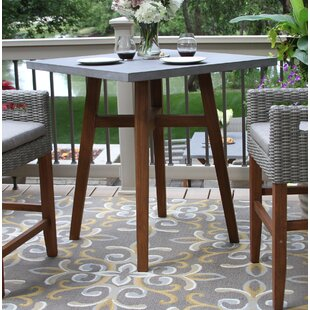 Hutchins Square Counter Height Bistro Table by Alcott Hill