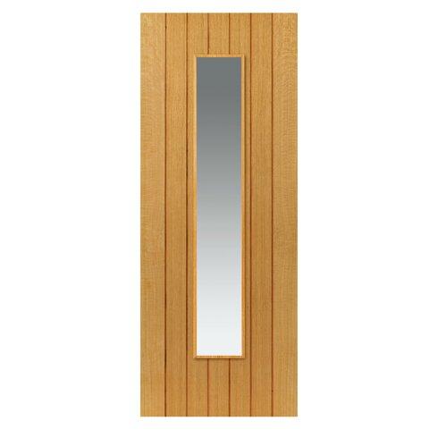 Cherwell Solid MDF Glazed Slab Internal Door  sc 1 st  Wayfair & JB Kind Cherwell Solid MDF Glazed Slab Internal Door   Wayfair.co.uk