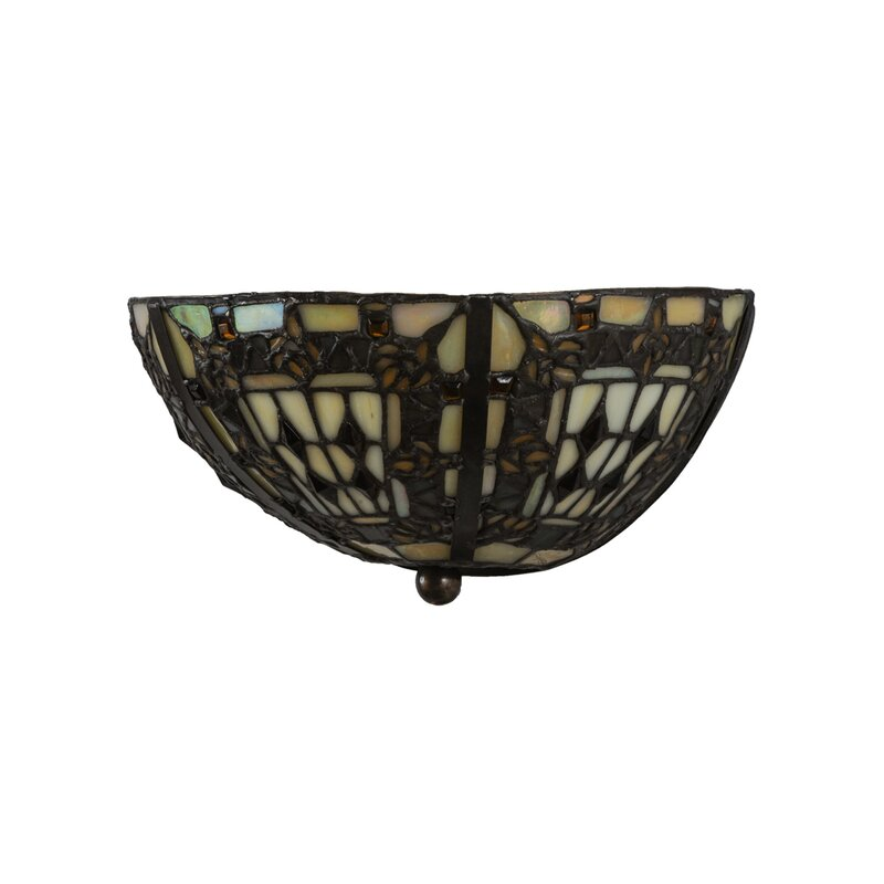 1 Light Fleur De Lis Wall Sconce