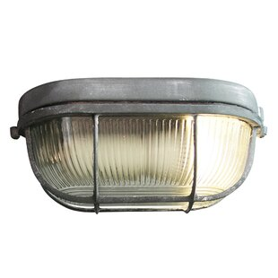 Ava Outdoor Bulkhead Light By Borough Wharf