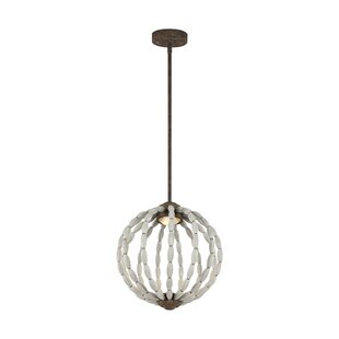 Jenkinsburg 1-Light Pendant by Bungalow Rose