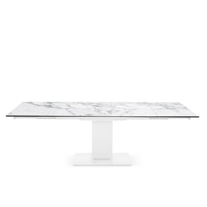 Echo - Extending table, pedestal base by ..