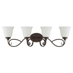Chalfont 4-Light Vanity Light By Fleur De Lis Living Wall Lights