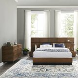 Adomale Queen Platform 4 Piece Bedroom Set by Latitude Run