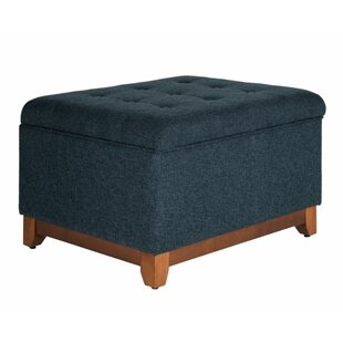 Lewes Tufted Storage Ottoman by Alcott Hill