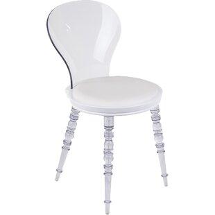 Transparent Johan Side Chair by Stilnovo