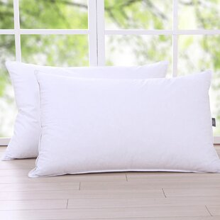 Medium Down and Feathers Pillow (Set of 2)