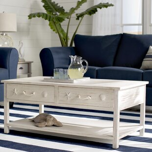 Dudek Coffee Table by Beachcrest Home