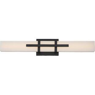 Best Charybdis 1-Light LED Bath Bar By Orren Ellis
