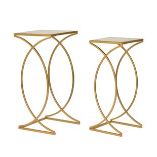 Huguenot 2 Piece Nesting Tables Mercer41