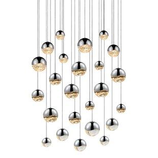 Sonneman Grapes 24-Light Pendant